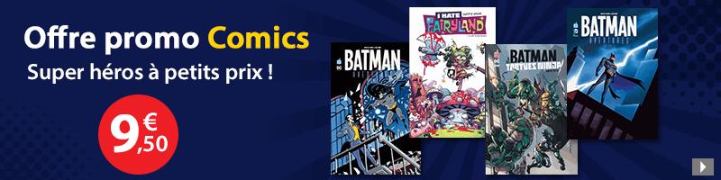 Comics à 10 euros